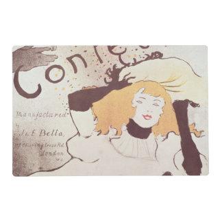 Confetti, 1893 laminated place mat