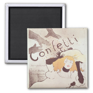 Confetti, 1893 magnet