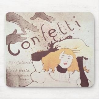 Confetti, 1893 mouse pad