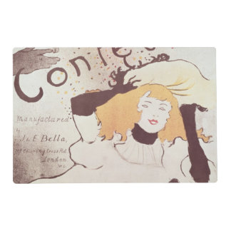Confetti, 1893 placemat
