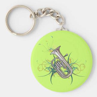 Confetti Baritone Keychain