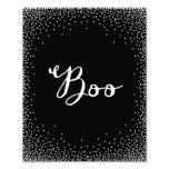 Confetti Boo | Halloween Art Print