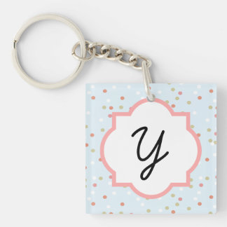 Confetti Cake • Blue Buttercream Frosting Key Chains