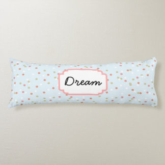 Confetti Cake • Blue Buttercream Frosting Body Pillow