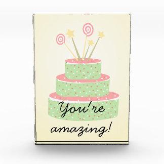 Confetti Cake • Green Birthday Cake Award