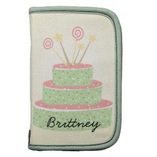 Confetti Cake • Green Birthday Cake Planner