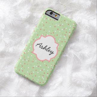 Confetti Cake • Green Buttercream Frosting Barely There iPhone 6 Case