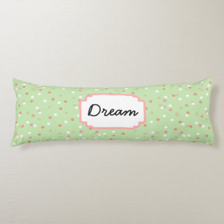 Confetti Cake • Green Buttercream Frosting Body Pillow