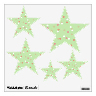 Confetti Cake • Green Buttercream Frosting Room Decals