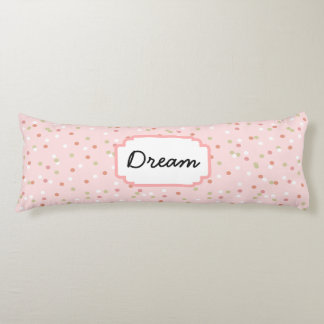 Confetti Cake • Pink Buttercream Frosting Body Pillow