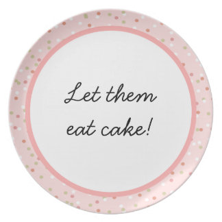 Confetti Cake  • Pink Buttercream Frosting Plate