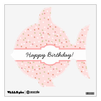 Confetti Cake • Pink Buttercream Frosting Room Graphics