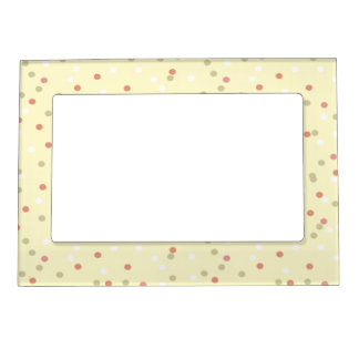 Confetti Cake  • Yellow Buttercream Frosting Magnetic Frame
