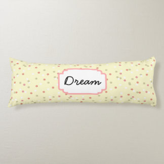 Confetti Cake  • Yellow Buttercream Frosting Body Pillow