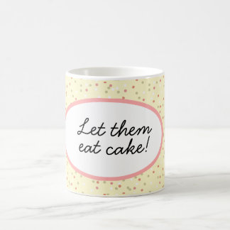 Confetti Cake  • Yellow Buttercream Frosting Classic White Coffee Mug