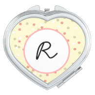 Confetti Cake  • Yellow Buttercream Frosting Compact Mirror