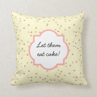Confetti Cake • Yellow Buttercream Frosting Pillows