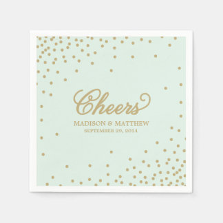 Confetti Cheers | Personalized Paper Napkins