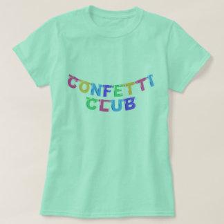 Confetti Club Banner Tee