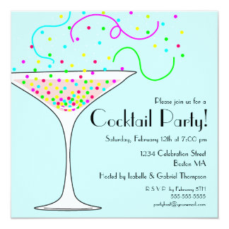 Cocktail Party Invitations & Announcements | Zazzle