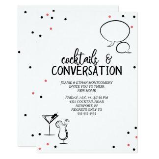 Confetti Cocktails & Conversation House Party Card