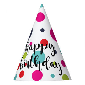 Confetti Confection Birthday Party Hat