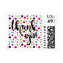 Confetti Confection Thank You Postage Stamp