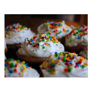 Confetti Cupcakes Post Card