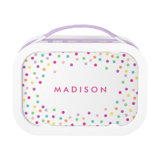 Confetti Cutie | Personalized Lunch Box