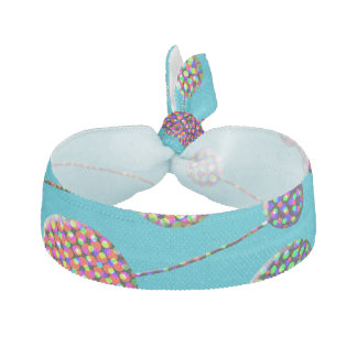 Confetti Dots and Stripes Elastic Hair Ties
