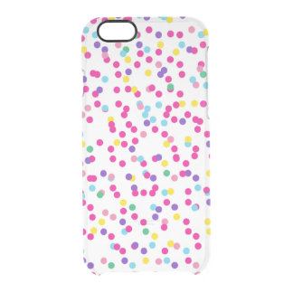 Confetti Dots Uncommon Clearly™ Deflector iPhone 6 Case