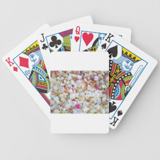 CONFETTI dried flowers Bicycle Poker Deck