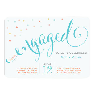 Confetti | Engagement Party Invitation