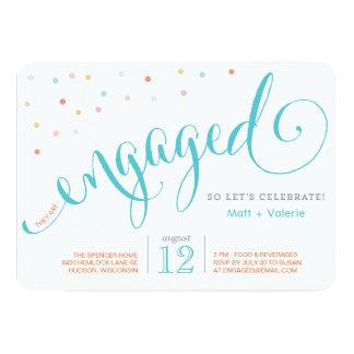 Confetti | Engagement Party Invitation