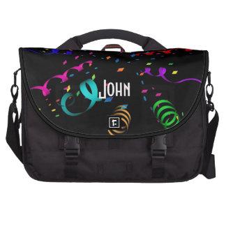 Confetti Explosion Laptop Bag Template