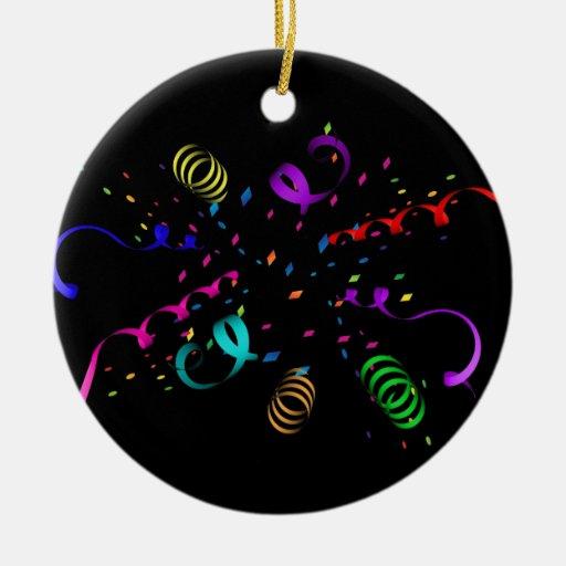Confetti Explosion Ornament