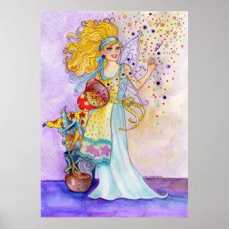 Confetti Fairy Print