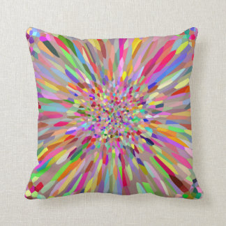 Confetti Flower Summer Pillow
