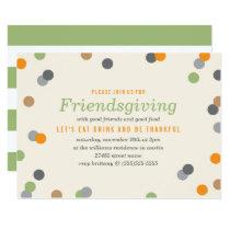 Confetti Friendsgiving Party Invitation