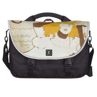Confetti Henri de Toulouse Lautrec illustration Laptop Computer Bag