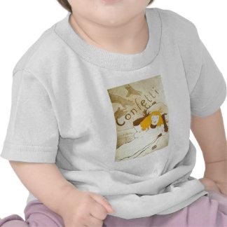Confetti Henri de Toulouse Lautrec illustration T Shirts