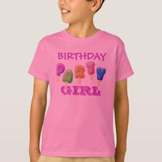 Confetti Ice Cream Treats Birthday Party T-shirt