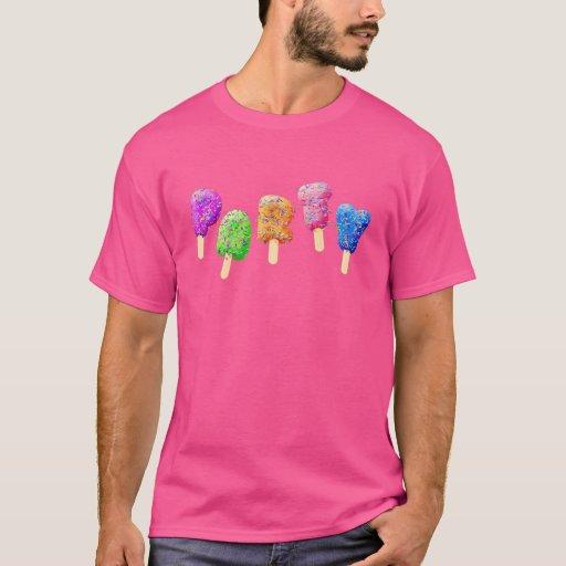 Confetti Ice Cream Treats Party T-shirt