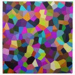 Confetti in Jewel Tones Cloth Napkin<br><div class='desc'>A fun abstract in shades of lavender,  purple,  pink,  fuchsia,  orange,  lime green,  olive green,  forest green,  light blue,  medium blue,  orange,  melon,  yellow,  brown,  black and more!</div>