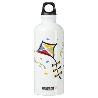 Confetti Kite Aluminum Water Bottle