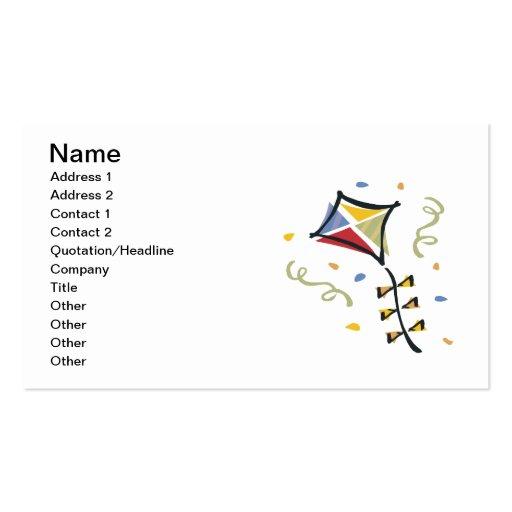 Confetti Kite Business Card