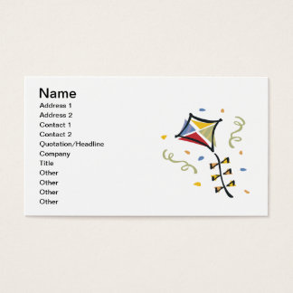Confetti Kite Business Card