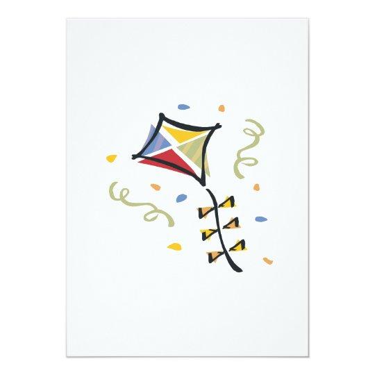 Confetti Kite Card