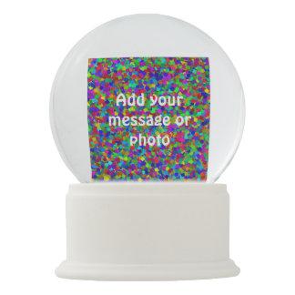 Confetti - Multicolored Snow Globe
