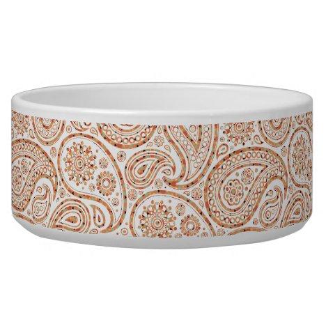 Confetti Paisley Pattern Bowl